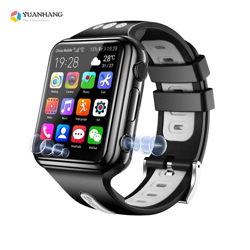 Smart 4G Remote Camera GPS WI-FI Child Student Whatsapp Google Play Smartwatch Video Call Monitor Tracker Location Phone Watch