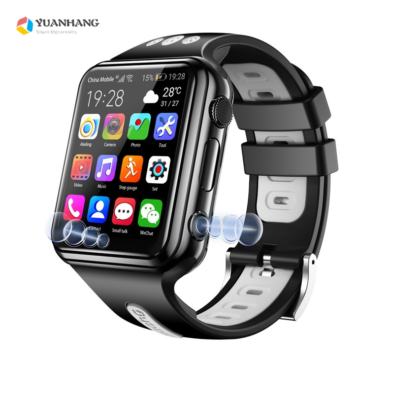 Smart 4G Fernbedienung Kamera <font><b>GPS</b></font> WI-FI Kind Student Whatsapp Google Spielen Smartwatch Video Anruf Monitor Tracker Location Telefon Uhr image