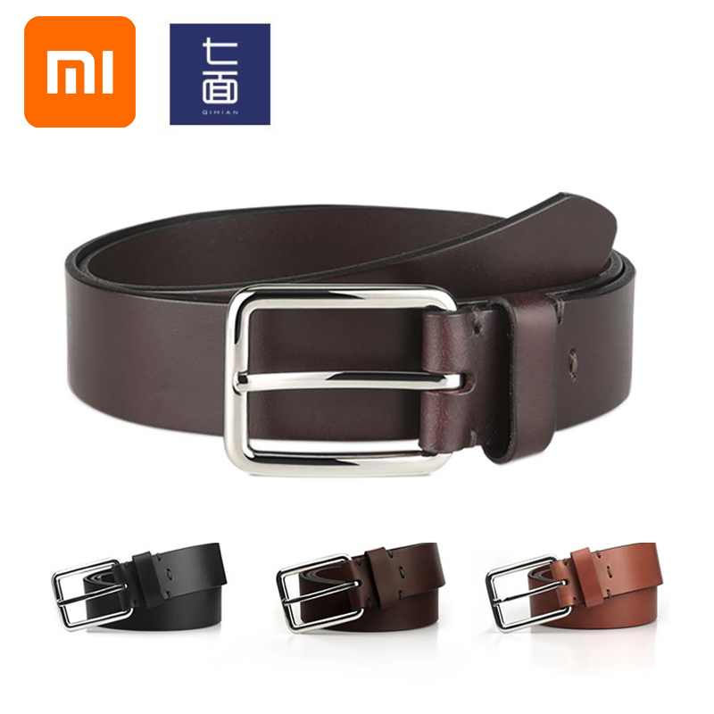 Xiaomi Men's business casual belt wild Italian vegetable tanned top layer leather stainless steel pin buckle fashion pants belt-in Smart Remote Control from Consumer Electronics on AliExpress - 11.11_Double 11_Singles' Day 1