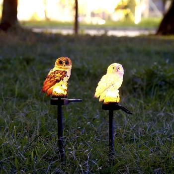 Owl Solar Light With Solar LED Panel Waterproof IP65 Outdoor Solar Powered Led Path Lawn Yard Garden Lamps Home Garden Decor 5