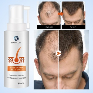 HAIRCUBE Stop Anti Hair Loss Fast Hair Growth Products For Men Woman Hair Growth Spray Essential Oil Liquid Essence Regeneration
