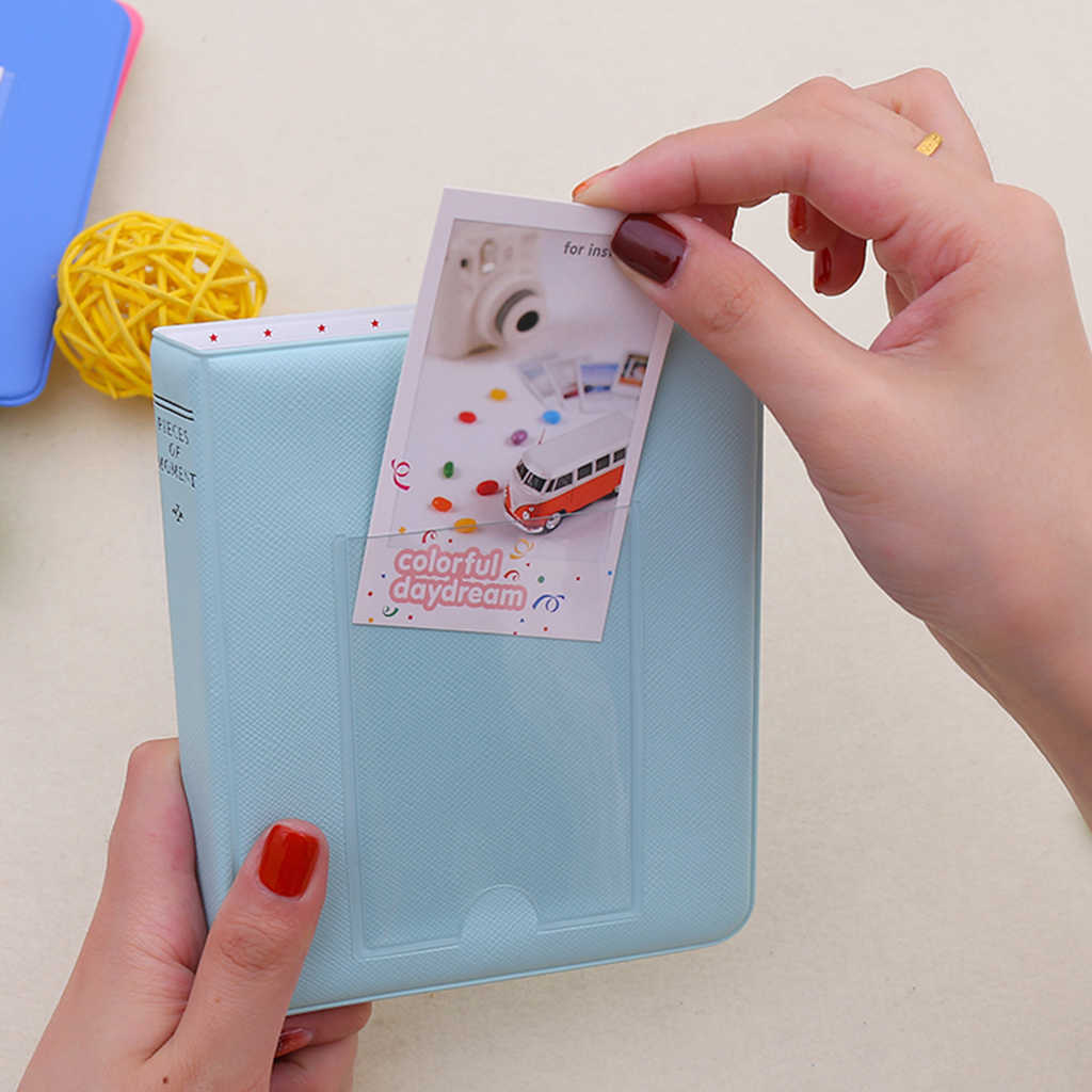 64-Pocket Mini Album Case Opslag Voor Fujifilm Instax Mini 8, 9 7 S 50 3 ''Film