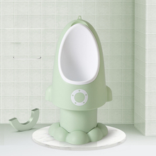 Baby Boy Urinal Rocket Shape Vertical Wall-Mounted Pee Training Urinal Boys Potty Standing Toilet Adjustable Children Boy Urinal