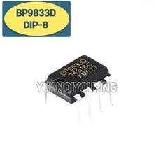 10 pces bp9833d dip-8 9833d dip bp9833 dip8 não-isolado step-down constante atual led driver chip novo original