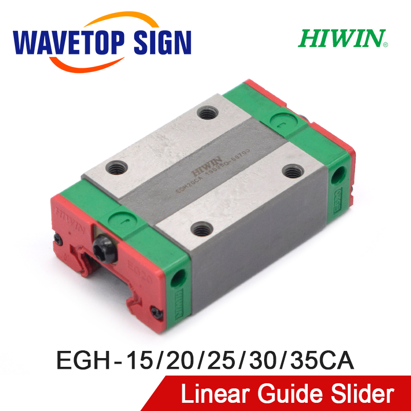 HIWIN Linear Guide Slider EGH15CA EGH20CA EGH25CA EGH30CA EGH35CA Use For Linear Rail CNC Diy Parts