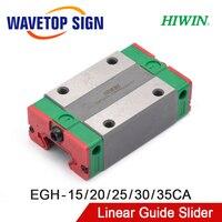 Ev Dekorasyonu'ten Doğrusal Kılavuzlar'de HIWIN lineer kılavuz kaymak EGH15CA EGH20CA EGH25CA EGH30CA EGH35CA kullanımı lineer ray CNC Diy parçaları