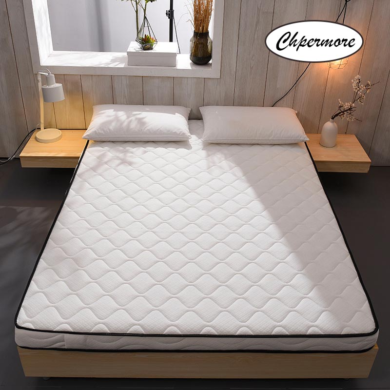Chpermore Thickening Mattress 0.9 Foldable Student Dormitory Tatami Single Double Mattresses King Queen Size