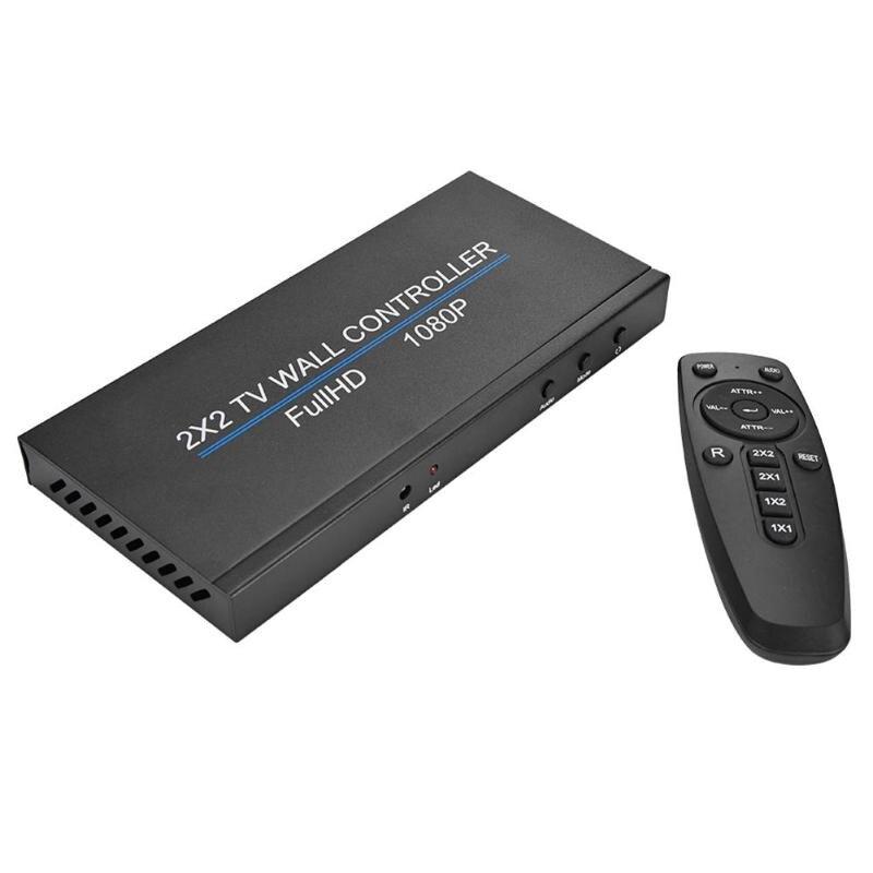 Горячая продажа видео настенный контроллер Многофункциональный 4-канальный ТВ видео настенный контроллер 2x2 настенный процессор 1080p комбинированный контроллер