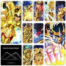 Cao Cấp Silicone Mềm Saint Seiya Anime Cho Xiaomi Redmi 7 7A Đi S2 4X 5 5 6 6 Plus 6 6A k20 Note 4 5A 6 7 8 Pro Thời Trang Ốp Da