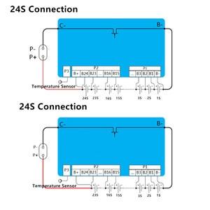 Image 5 - 20S 100A akıllı BMS ile 0.6A aktif batarya koruma levhası Bluetooth 14S ~ 20S 100A telefon APP lifepo4 li ion 16S 20S