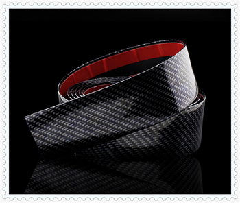 1M car sticker carbon fiber rubber soft bumper strip DIY threshold for BMW M240i M140i 530i 128i i8 Z4 X5 X4 X2 X3 3-series image