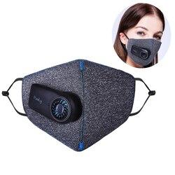 El más nuevo respirador puramente Anti-contaminación PM2.5 filtro deporte Anti polvo contaminación del aire máscara aire al aire libre purificador de respiración