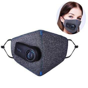 Puur Fietsen Gezichtsmasker Filter Anti-Vervuiling Fiets Respirator Outdoor Sport Anti Dust Ademend Masker Air Ademen Luchtreiniger