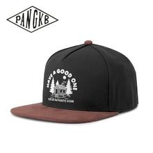 Snapback Hat Sun-Baseball-Cap Brown Woolen PANGKB Black Bone Casual Women Brand Cloth