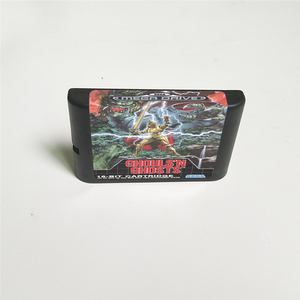 Image 2 - Ghouls N أشباح غطاء يورو مع صندوق البيع بالتجزئة 16 بت MD بطاقة الألعاب ل Sega megadve نشأة لعبة فيديو وحدة التحكم