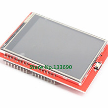 Parallel-Port Lcd-Shield Touch-Panel-Display TFT with Tf-Reader 320--240-Resolution