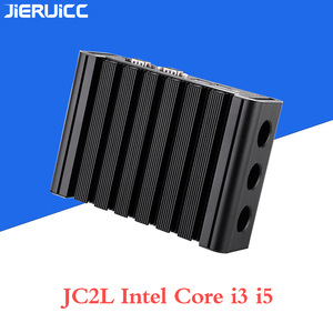 Image 2 - Мини ПК без вентилятора Core i3 7100u i5 7200u JC2L с 2 * RTL 8111E 10 м/100 м/1000 м Lan 2 com портами, M.2 SSD lan nano itx настольный компьютер