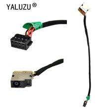 GinTai DC Power Jack Harness Cable Socket Plug Connector Replacement for HP Pavilion Sleekbook CBL00326-0075 697921-001
