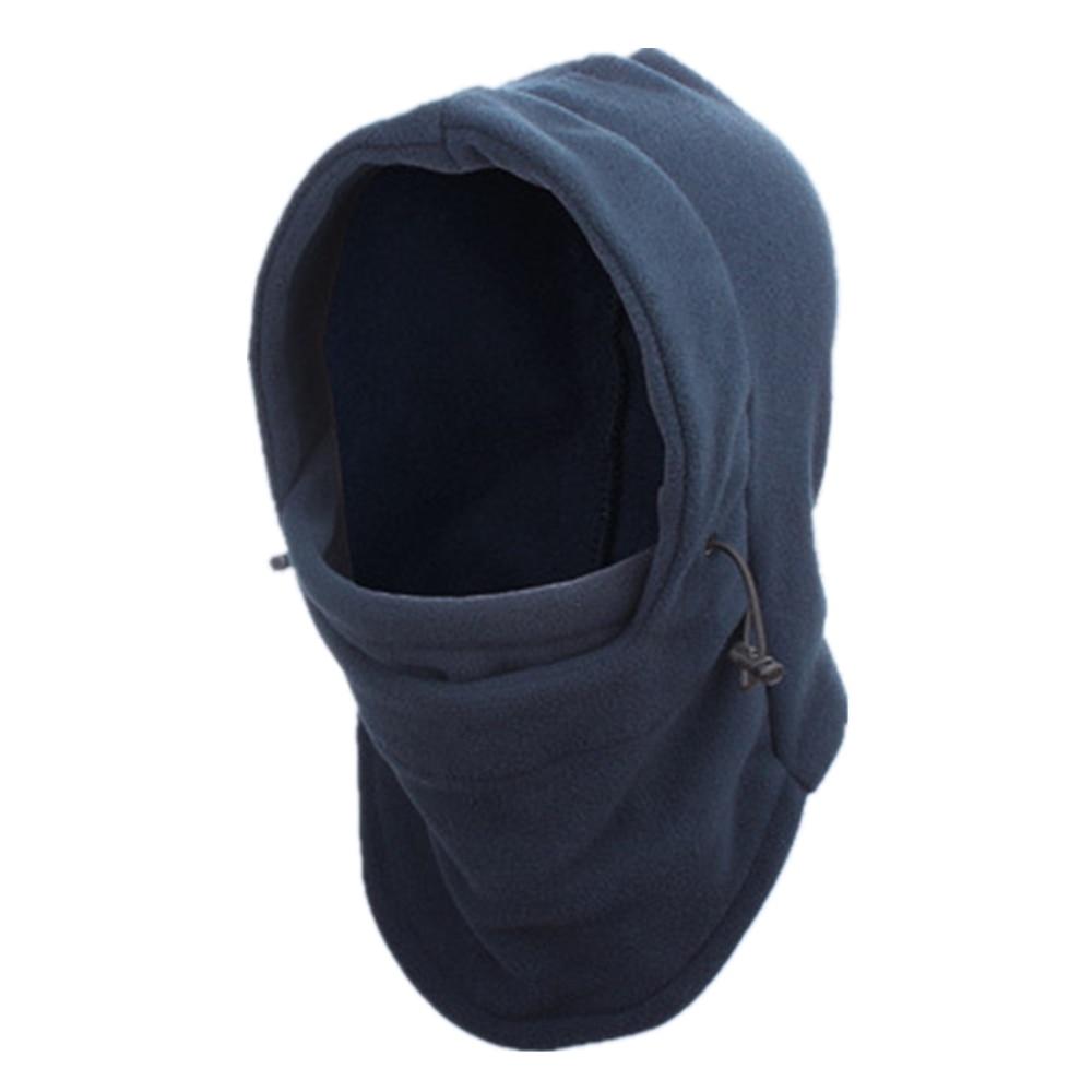 2020 New Fashion Warm Cap Winter Men Women Hats Waterproof Thermal Fleece Balaclava Hat Hooded Neck Warmer Hiking Scarves
