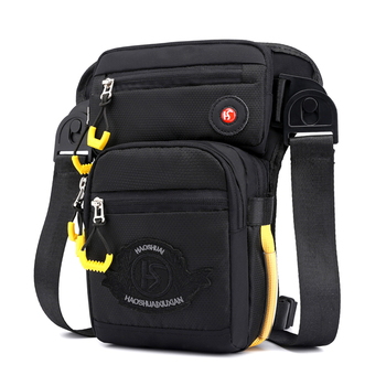 2021 Multi-Purpose Waist Leg Bag Men's Work Climbing Sling Chest Shoulder Day Pack Male Boy's Tactical  Cross-Body Backpack
