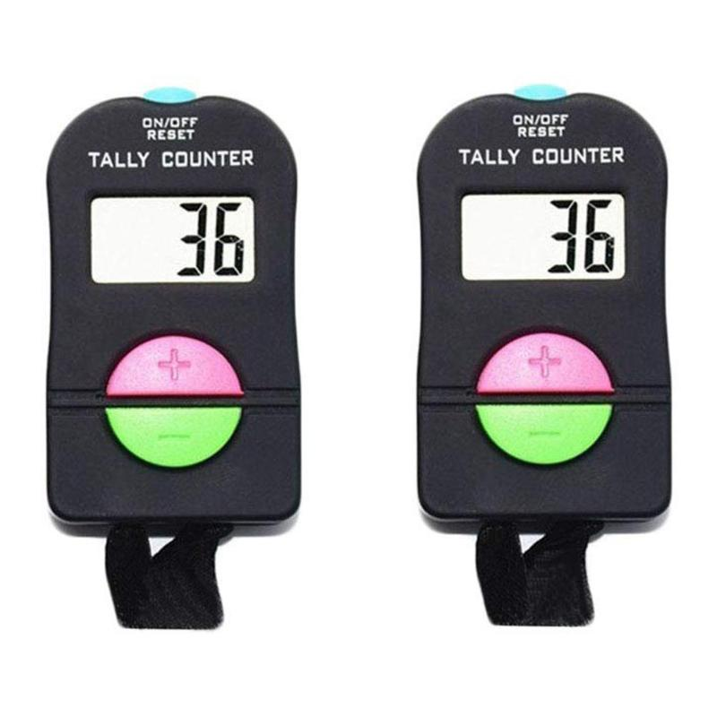 Portable Tally Timer Handheld Manual Counting LCD Screen Add Subtract Calculator Small Size Light Weight And Convenient