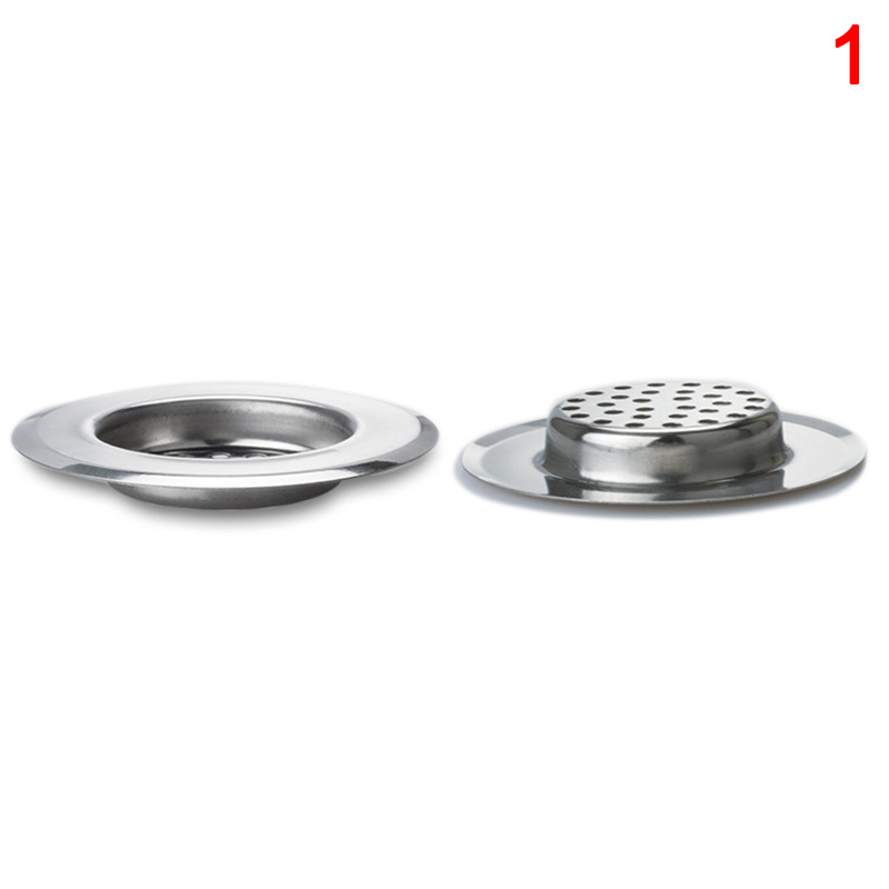 HOT Kitchen Sink Strainer Stainless Steel Drain Filter With Large Wide Rim NDS66