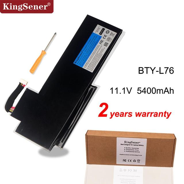 KingSener BTY L76 Laptop Battery For MSI GS70 2OD 2PC 2PE 2QC 2QD 2QE GS72 MS 1771 MS 1772 MS 1773 MS 1774 MEDION X7613 MD98802