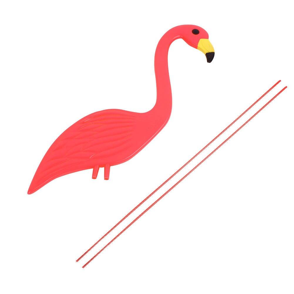 Фламинго газон украшения Пластиковые Свадебные Фламинго статуэтки Фламинго орнамент балкон искусство сад украшения двор искусственный
