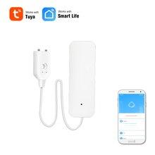 Wifi утечка воды, умный датчик утечки воды, детектор проникновения, Оповещение об уровне воды, сигнализация о переливании, приложение, дистанц...