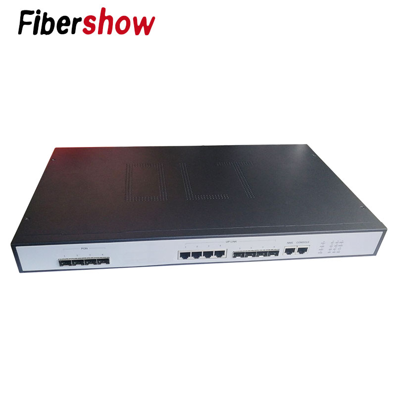 4PON Ports EPON OLT FTTH CATV OLT Carrier-grade High-density Fiber Optic High Quality  1.25G Professional Mini