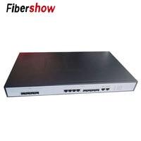 EPON OLT 4PON Ports FTTH CATV OLT Carrier grade high density Fiber Optic High Quality 1.25G professional mini