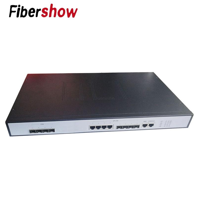 GEPON EPON OLT 4PON Ports  FTTH CATV OLT Carrier-grade High-density Fiber Optic High Quality  1.25G Professional Mini