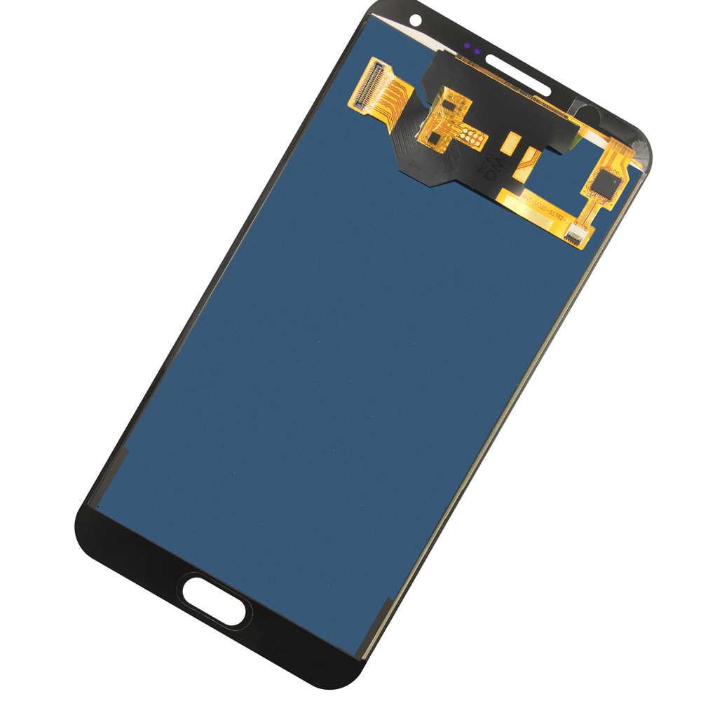 สำหรับ Samsung Galaxy E7 LCD E700 E700F E700M จอแสดงผล LCD Touch Digitizer 5.5 ''โทรศัพท์มือถือ lcd หน้าจอ