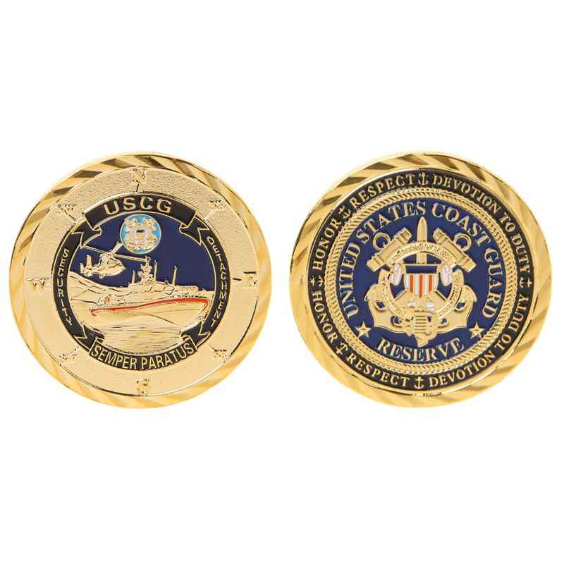 Nieuwe Herdenkingsmunt Verenigde Staten Leger Coast Guard Collection Souvenir