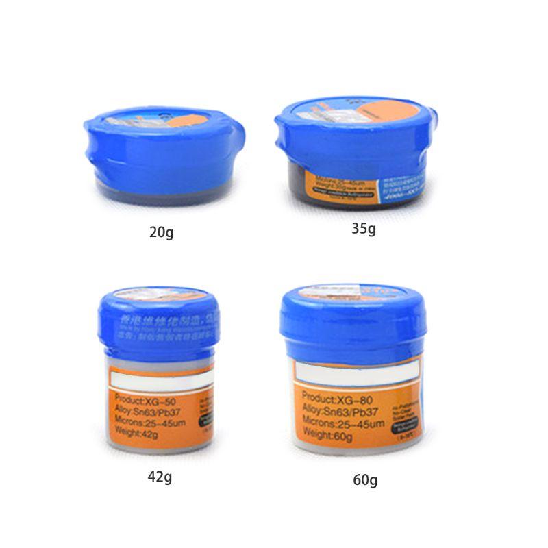 25um-45um паяльная паста Флюс сварочный припой олово Sn63/Pb67 для печатной платы SMT SMD