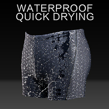 Men shark swimming trunks new men waterproof briefs quick-drying shorts Male sharkskin game swimwear beach swimsuit