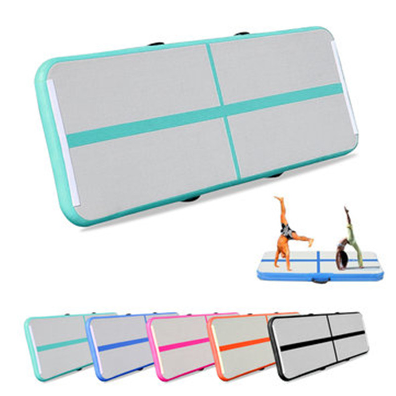 1/2/3m Inflatable Track Gymnastics Mattress Gym Tumble Airtrack Floor Yoga Mat Olympics Tumbling Matte With Electric Air Pump