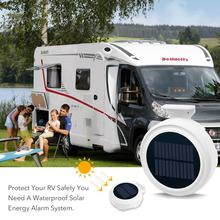 Solar Alarm Outdoor Waterproof GSM Alarm System Smartphone Remote Control SMS Dialing Call Home Security PIR Motion Detection стоимость