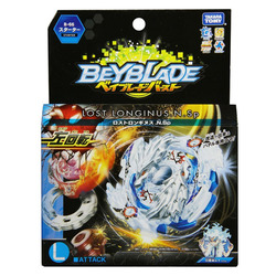 Takara Tomy Toys Spinning Top with Launcher Beyblade Burst Evolution B-66 Metal Fusion Attack Pack GT Gyro Children Gifts