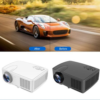 J11 Projector true stereo super sense sound quality HD 1080P home projector practical durable Projector