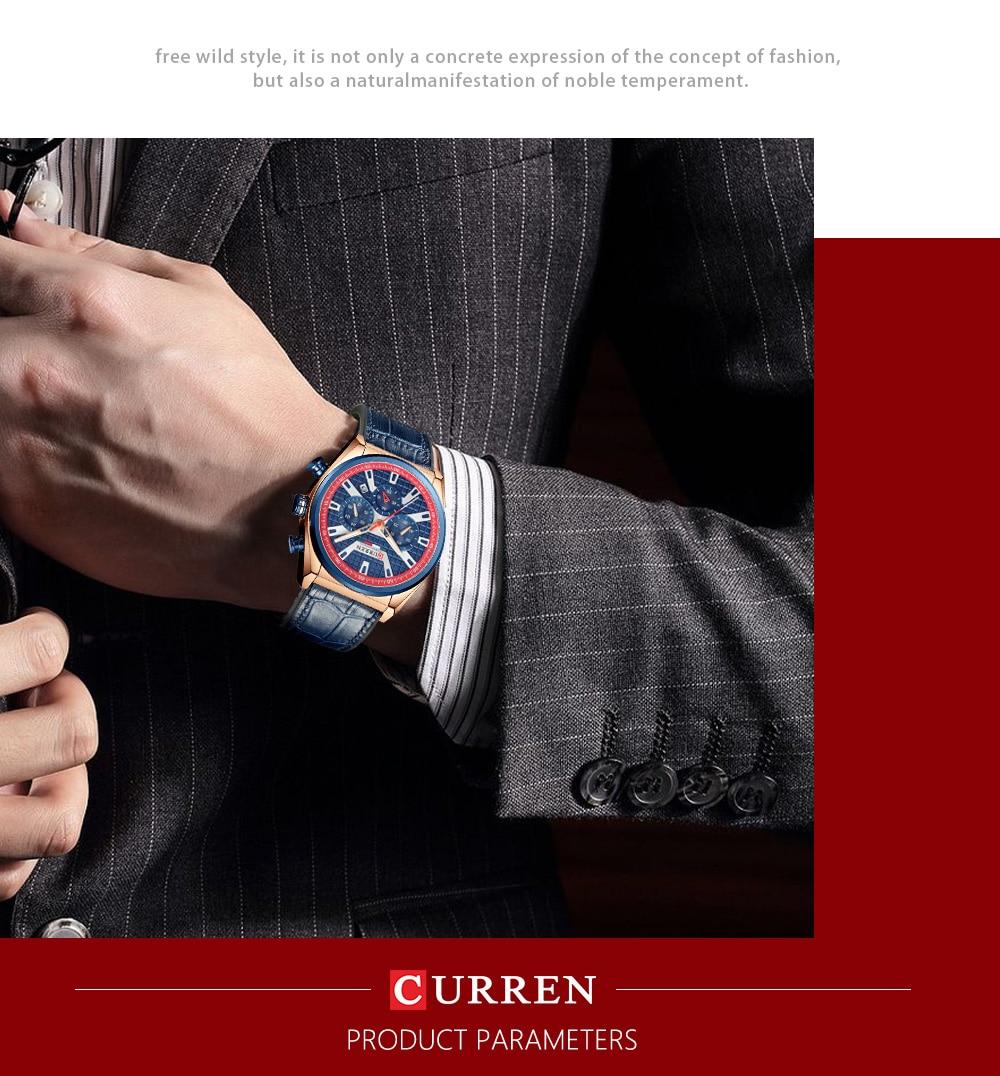CURREN 8392 Men Watch