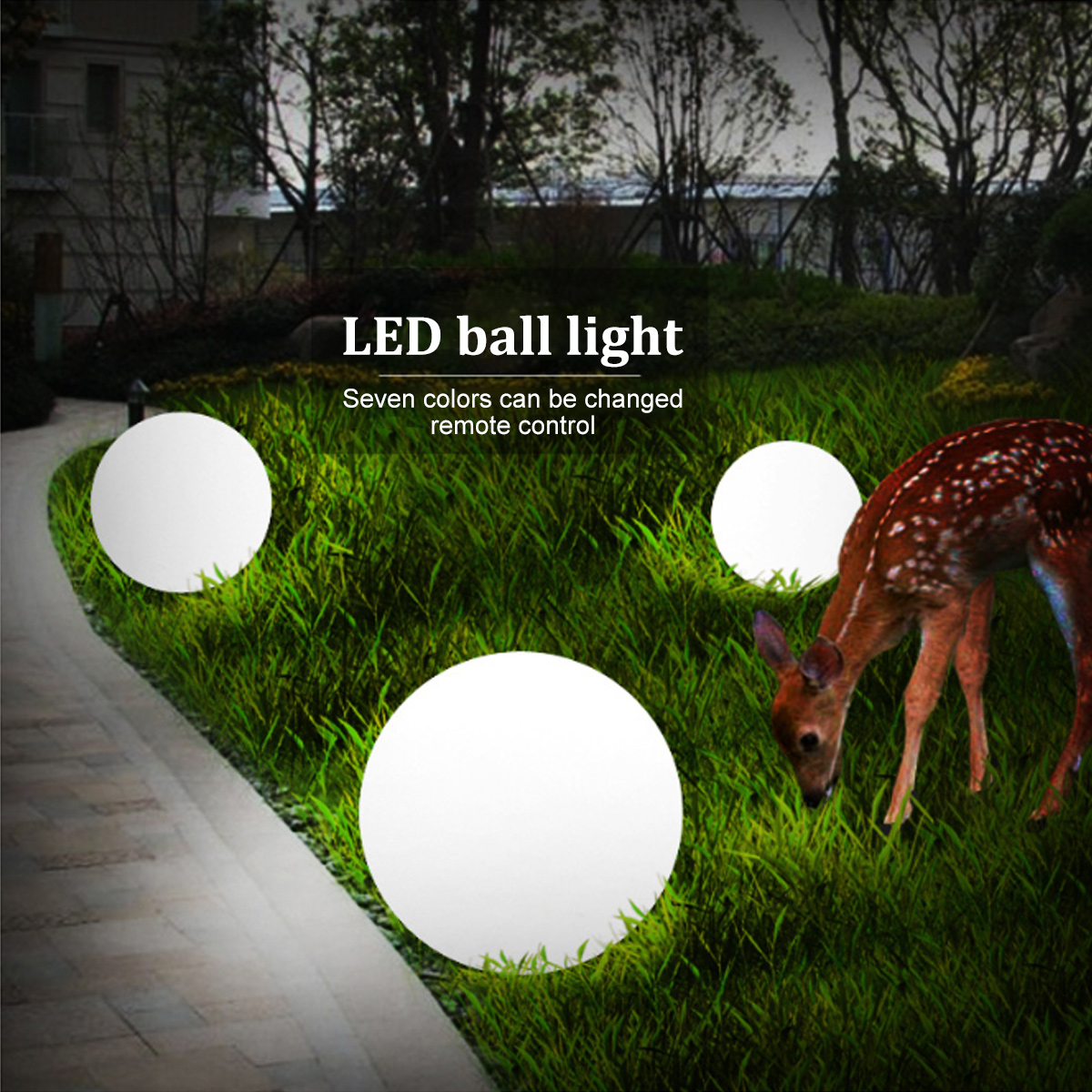 LED Swimming Pool Floating Rechargeable Ball Lamp Waterproof Indoor Outdoor/garden Front Courtyard Globe WeddingGarden Lawn KTV