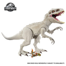 Jurassic World Super Colossal Indominus Rex Dinosaur Camp Cretaceous Movable Action Figure Toys for Kids Birthday Gifts GPH95