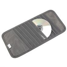 Высокое качество автомобильный солнцезащитный козырек стеклянная ручка CD DVD диск чехол для карты с салфеткой многофункциональный держатель для хранения Клип сумка