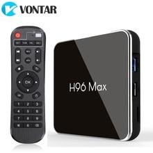H96 MAX X2 Android TV kutusu 9.0 4GB 64GB Amlogic 1080P H.265 4K Google mağaza Youtube h96MAX 2G16G akıllı TV kutusu