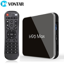 H96 מקס X2 אנדרואיד טלוויזיה תיבת 9.0 4GB 64GB Amlogic 1080P H.265 4K Google חנות Youtube h96MAX 2G16G חכם טלוויזיה תיבה