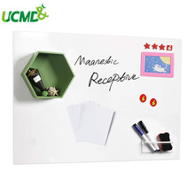Self-adhesive Iron Whiteboard Office Memo Message Board School Teaching Writing Board Kids Drawing Graffiti Glass wall Sticker
