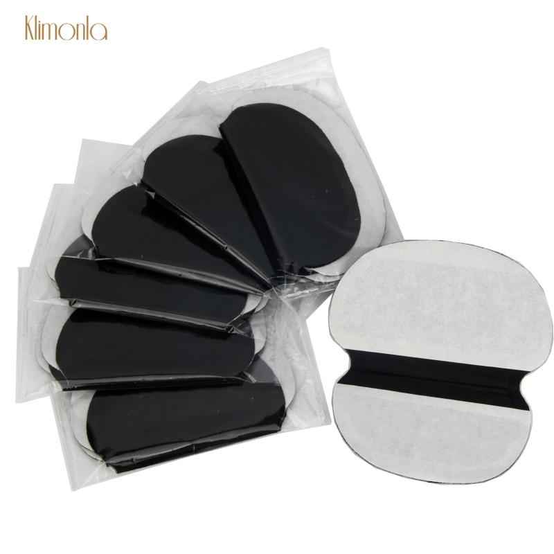 40X ( 20 пар) одноразовые подмышечные черные сверхбольшие потовые подушечки для ухода за пота защита от пота поглощающий дезодорант