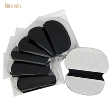 40x (20 pares) descartáveis axilas preto extra grandes almofadas de suor cuidados almofada de transpiração protetor absorvente desodorante