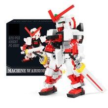 super robot war mech Gundam SEED ASTRAY Red Frame building block SD assemble model bricks toys collection astray